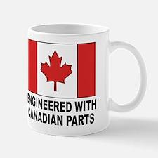 Engineered With Canadian Parts Mug