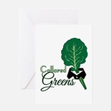 Collared Greens Greeting Cards