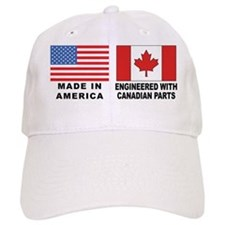 Engineered With Canadian Parts Baseball Cap