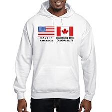 Engineered With Canadian Parts Hoodie Sweatshirt