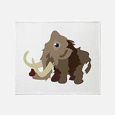 Mammoth Animal Throw Blanket