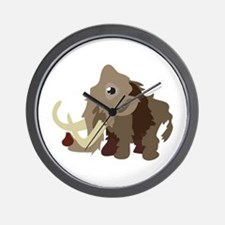 Mammoth Animal Wall Clock