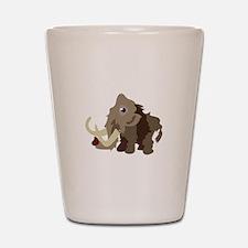 Mammoth Animal Shot Glass