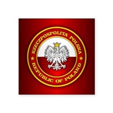 Polish Medallion Sticker