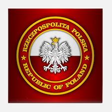Polish Medallion Tile Coaster