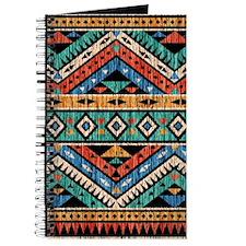 Vintage Aztec Pattern Journal