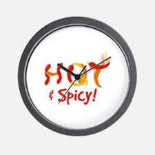 Hot & Spicy Wall Clock