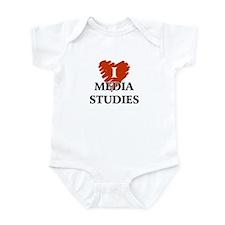 I Love Media Stadies Infant Bodysuit