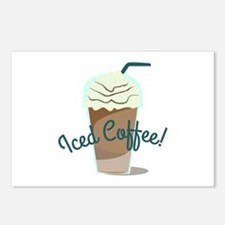 Iced Coffee Postcards (Package of 8)
