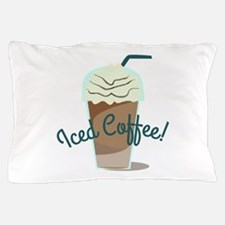 Iced Coffee Pillow Case