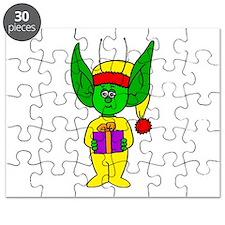 Present holding Bedbug Alien Puzzle