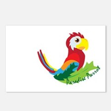 Paradise Parrot Postcards (Package of 8)