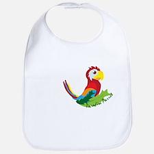 Paradise Parrot Bib
