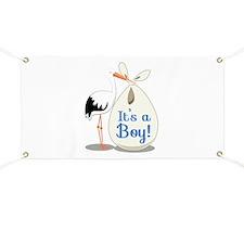 Boy Announcement Banner
