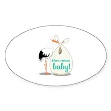 Baby Announcement Decal