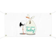 Baby Announcement Banner
