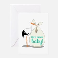 Baby Announcement Greeting Cards