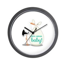 Baby Announcement Wall Clock