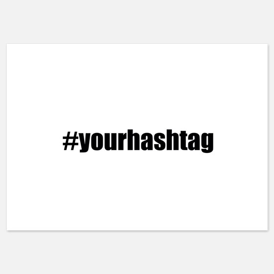 Customizable Hashtag Invitations
