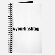 Customizable Hashtag Journal