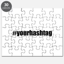 Customizable Hashtag Puzzle