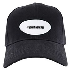 Customizable Hashtag Baseball Cap