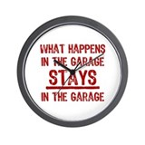 Funny garage Wall Clocks