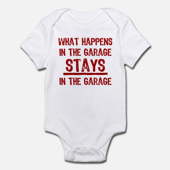 Stays In The Garage Infant Bodysuit