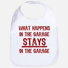 Stays In The Garage Bib