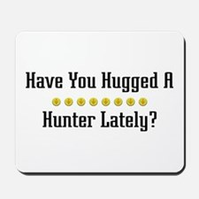 Hugged Hunter Mousepad
