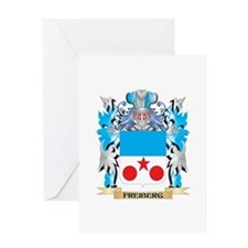 Freiberg Coat of Arms - Family Crest Greeting Card