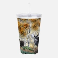 Unique Bow hunting Acrylic Double-wall Tumbler
