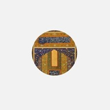 Vintage Islamic art Mini Button