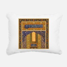 Vintage Islamic art Rectangular Canvas Pillow