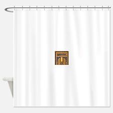 Vintage Islamic art Shower Curtain