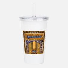 Vintage Islamic art Acrylic Double-wall Tumbler