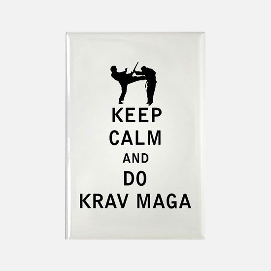 Keep Calm and Do Krav Maga Magnets