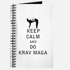 Keep Calm and Do Krav Maga Journal