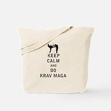 Keep Calm and Do Krav Maga Tote Bag