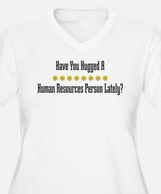 Hugged Human Resources Person T-Shirt