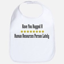 Hugged Human Resources Person Bib