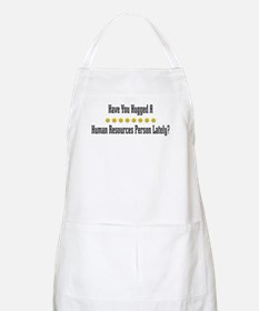 Hugged Human Resources Person BBQ Apron