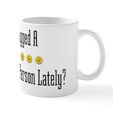 Hugged Human Resources Person Small Mug