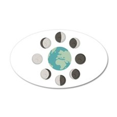 Moon Phases Wall Decal