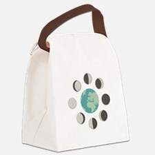 Moon Phases Canvas Lunch Bag