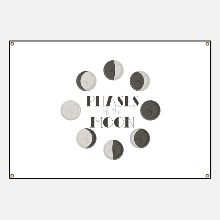 Phases of the Moon Banner