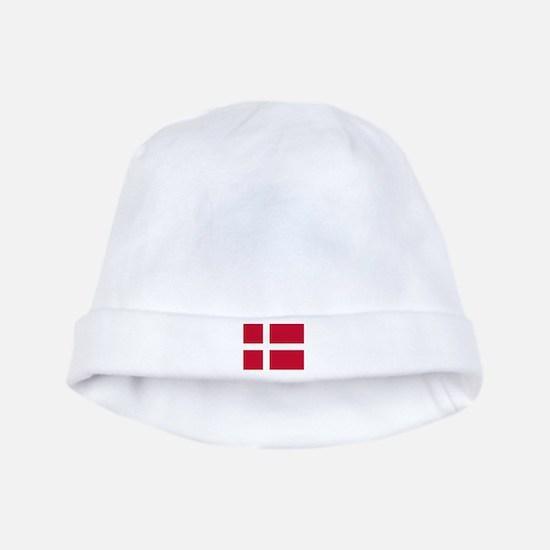 Denmark Flag Baby Hat