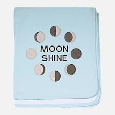 Moon Shine baby blanket
