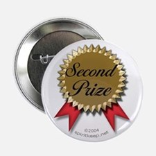 Second Prize Winner Button