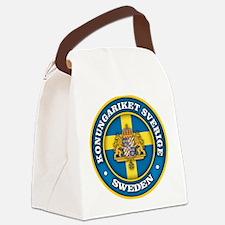 Swedish Medallion Canvas Lunch Bag
